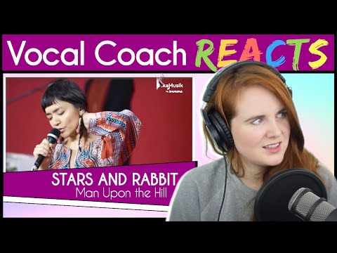 Vocal Coach Reacts To Stars And Rabbit - Man Upon The Hill (Elda Suryani Live)