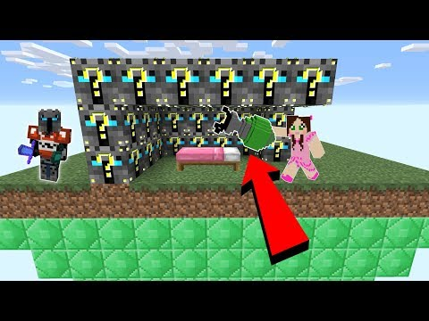 Minecraft: POPULARMMOS LUCKY BLOCK BEDWARS! - Modded Mini-Game