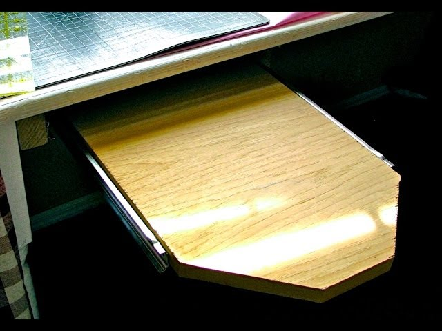 Pull Out Ironing Flatiron Plate Car Drawer Style Folding Ironing Board /& DIY