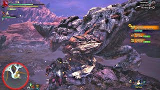 Monster Hunter World - Barroth Boss Fight & Giant Fish [1080P 60FPS] PS4 Pro