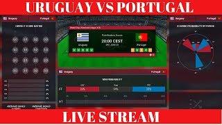 URUGUAY VS PORTUGAL ♛ WORLD CUP 2018 LIVE ♛ FOOTBALL LIVE STREAM PREDICTION WIN PROBABILITY