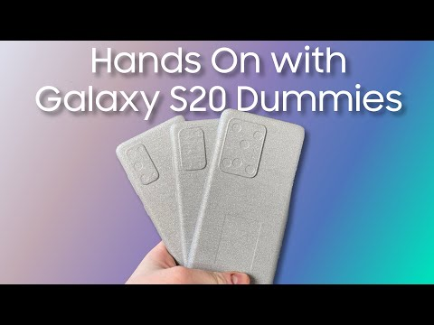 Size, Form, And Fit Comparison Of The Samsung Galaxy S20, S20+, And S20 Ultra Dummies