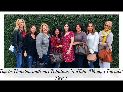 Trip to Houston with our Fabulous YouTube/Blogger Friends |  The2Orchids