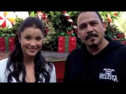 Happy Holidays from Kristen Renton and Emilio Rivera of 'Sons of Anarchy'