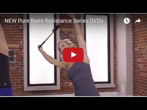 NEW Pure Barre Resistance Series DVDs