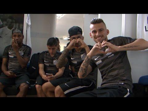 Santos 2 x 1 Palmeiras   BASTIDORES PRÉ-TITULO   Paulistão 2015 (03/05/15)
