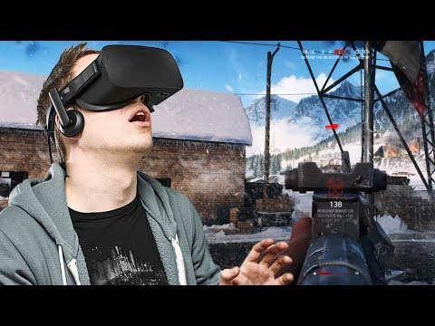 Battlefield 5 in Virtual Reality Oculus Rift VR Mod VorpX Gameplay ultra settings 2018