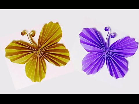➽ EASY PAPER BUTTERFLY !! DIY Room Decoration | Innovative Arts