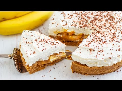 Easy No Bake Banana Banoffee Pie Recipe | HappyFoods