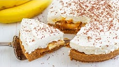 Easy No Bake Banana Banoffee Pie Recipe | HappyFoods