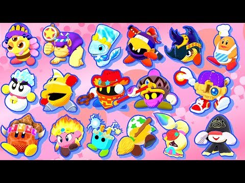 Kirby Star Allies - All Characters (Friends)
