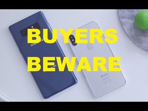 FORMER 8 YEAR VERIZON EMPLOYEE TELLS YOU HOW TO BUY NOTE 8 AND IPHONE 8 X BUYER BEWARE