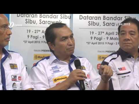 Minggu Amanah Saham Malaysia MSAM 2015 Dataran Bandar Sibu Sarawak 19 April 2015