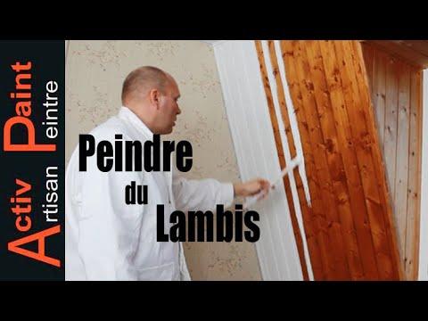 Bon ✋N°35 COMMENT REPEINDRE DU LAMBRIS Bois ACTIV PAINT