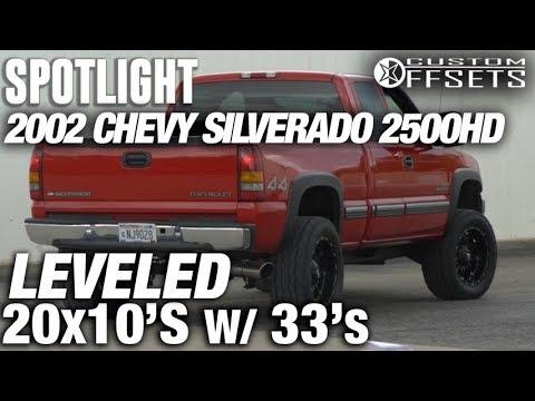 Spotlight - 2002 Chevy Silverado 2500HD, Leveled, 20x10 -24's, and 33s
