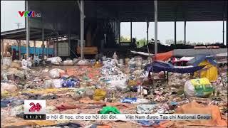 Bãi rác Tóc Tiên - Chuyển động 24h VTV  ngày 18-12-2017