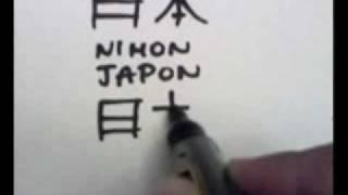 ensatien.com. Kanji list 1.  Japon & Japonais(Personne)