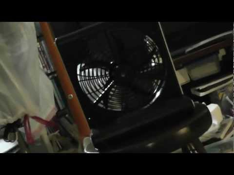 O2 Cool Portable Plus Box Fan With MP3 Speakers.