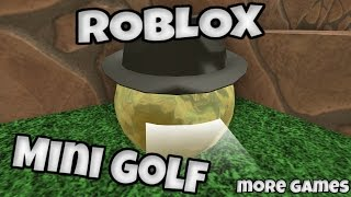 ROBLOX Mini Golf - barely won