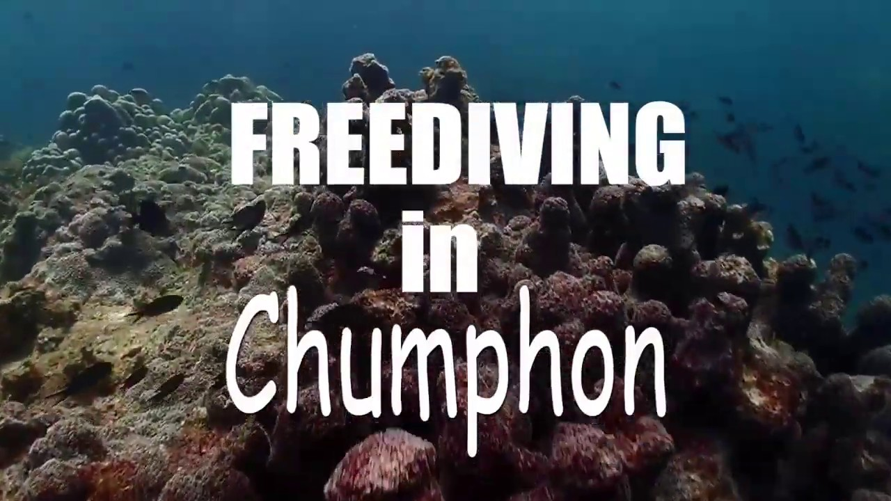 Freediving in Chumphon