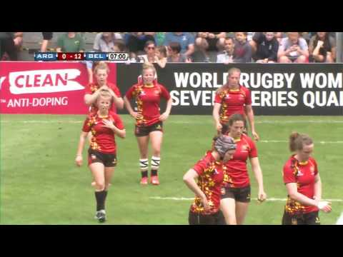 Argentina vs Belgium - World Rugby Women's Sevens Series Qualifiers