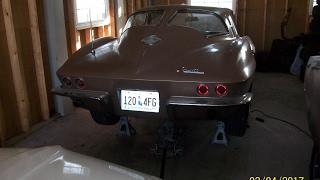 1963 Corvette driveshaft removal