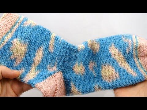 Youtube-Tutorial: Kinda Magic Socken #1 Bündchen