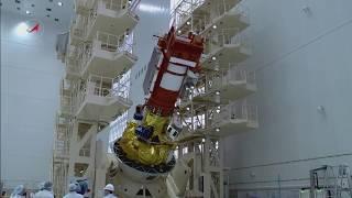 Космодром Восточный. «Метеор-М» №2-1. Работы в МИКе