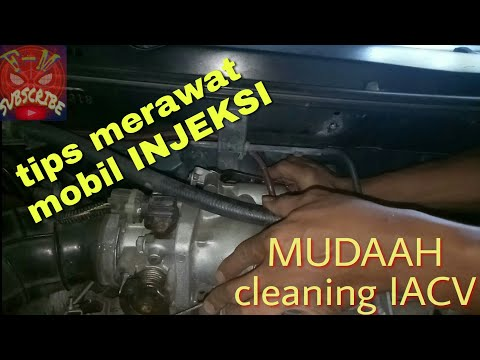 tutorial cleaning lepas idle air IACV accord cielo | cleaning and removing idle air IACV accord