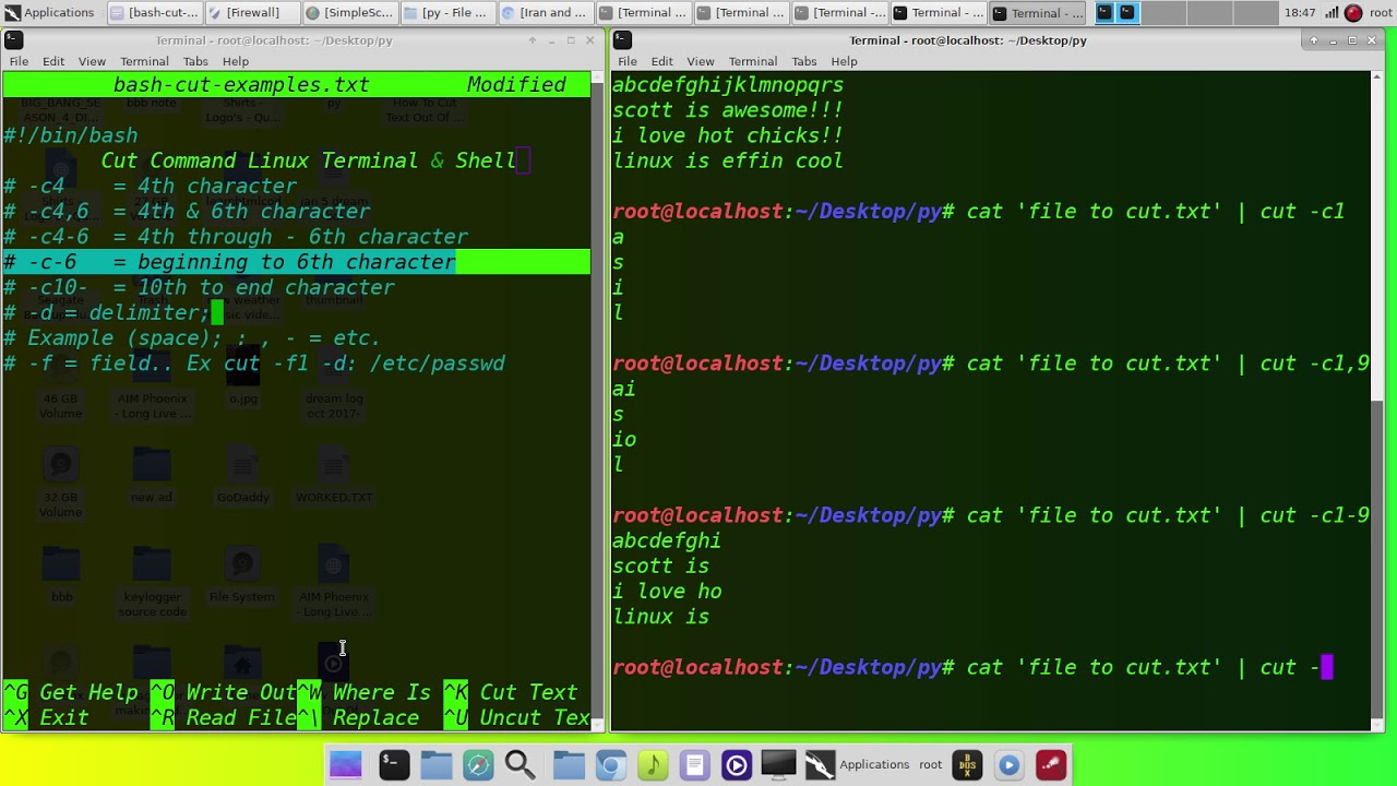 How To Cut Text Out Of Output Files In Linux And Shell Scripts
