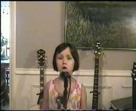 my 5yr old singing Gary Indiana