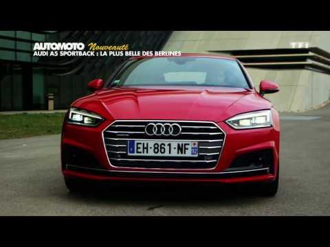 Essai : L'Audi A5 Sportback 2017
