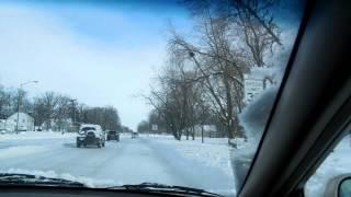 January Snow 2014, Fort Wayne, Indiana by Caroline Dewey