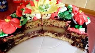 """торт"""" ЮЖНАЯ НОЧЬ"""" ароматный и нежный"""