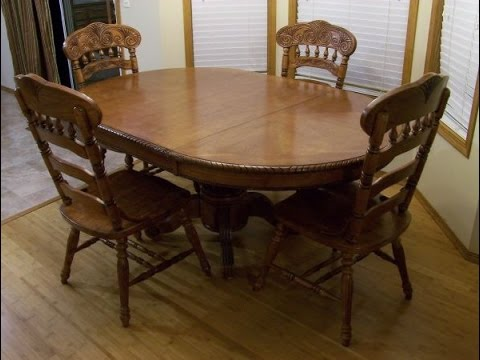 Round Kitchen Table With Leaf Youtube