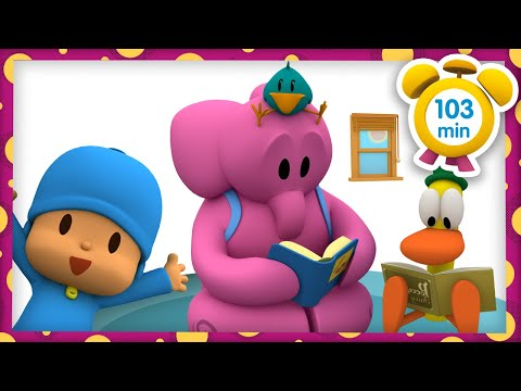 📚 POCOYO in ENGLISH - Once Upon a time [103 min]   Full Episodes   VIDEOS and CARTOONS for KIDS