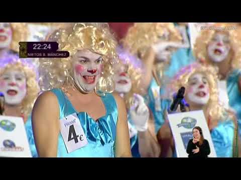 Los Nietos de Sary Mánchez   Final de Murgas   Las Palmas GC 2018