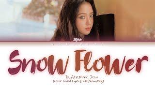 Blackpink Jisoo - Snow Flower  Yuki No Hana   Color Coded Lyrics Eng/rom/kan