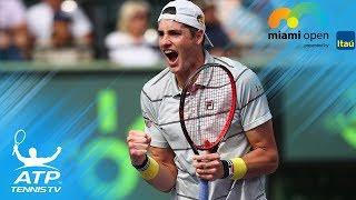 Isner, Del Potro reach semi-finals | Miami Open 2018 Quarter-Final Highlights