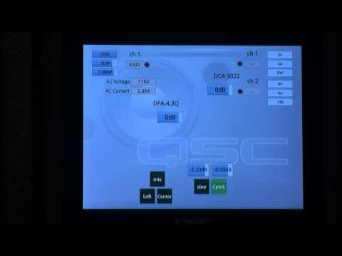 QSC Cinema: AC Current Requirements