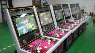 Two Players 26 In 1 Shooting Fish Game Machine Hunter Fish Game Table Gambling Machine