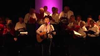 Yves Duteil chante avec l'Ensemble Vocal Maurice Vocal de Dinard