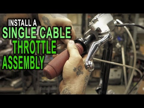 How To Install A Single Cable Throttle On Your Honda Shadow Build