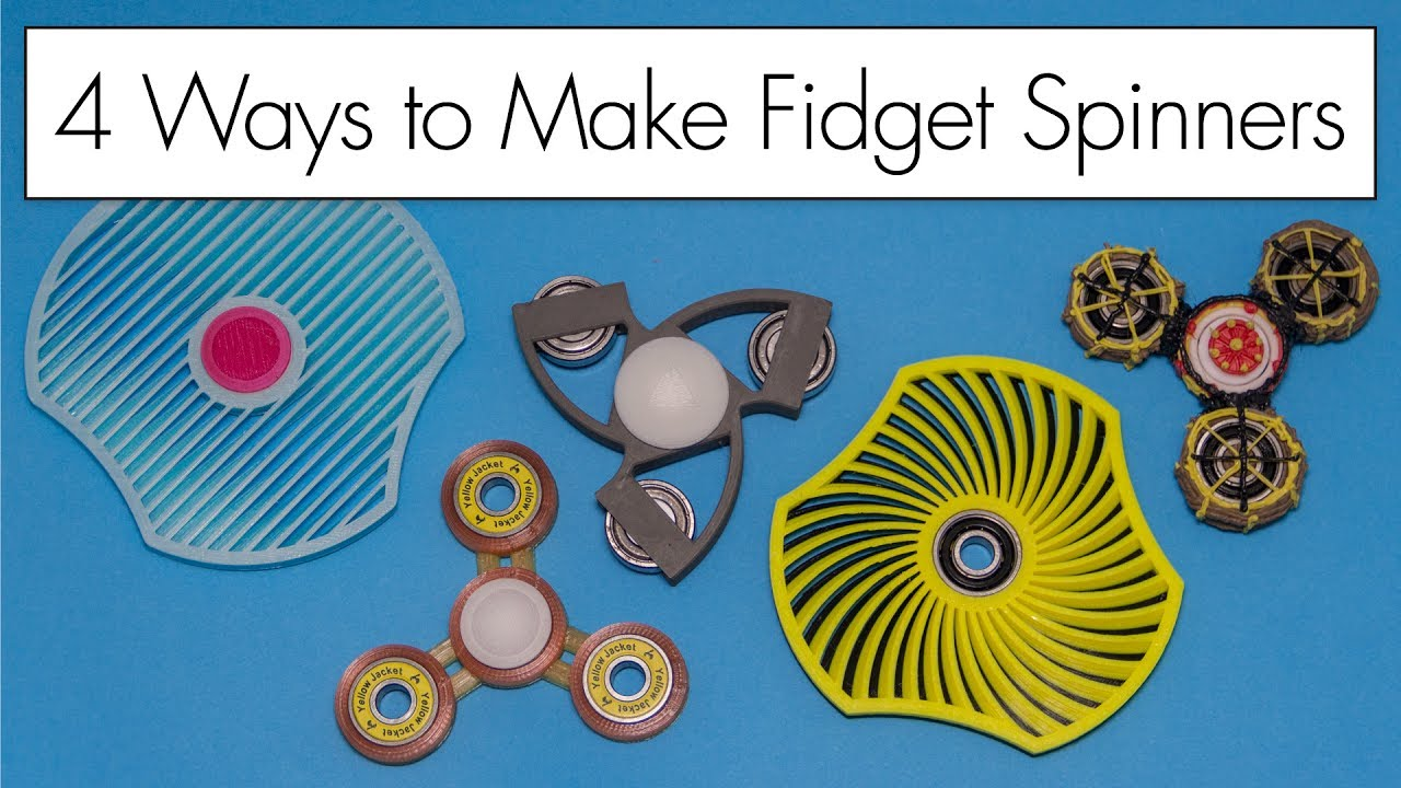 image regarding Fidget Spinner Printable Template named 3D Pen and 3D Released Fidget Spinners // 4 Practices in direction of Deliver Spinners