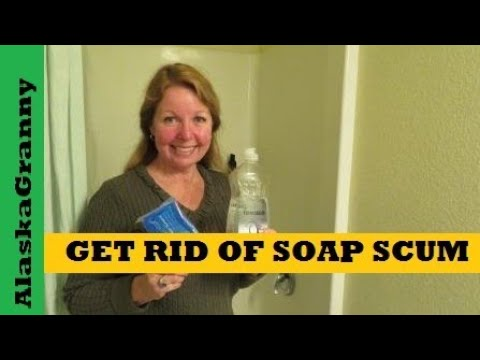 How to Clean Soap Scum Off Your Shower