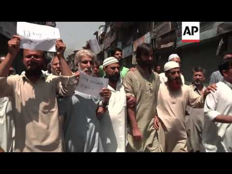 Protests after Indian government forces clash with protesters in Kashmir, four killed