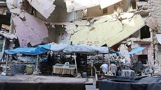 Тяжелые бои в Алеппо