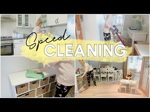 SPEED CLEANING | POWER HOUR | KATE MURNANE