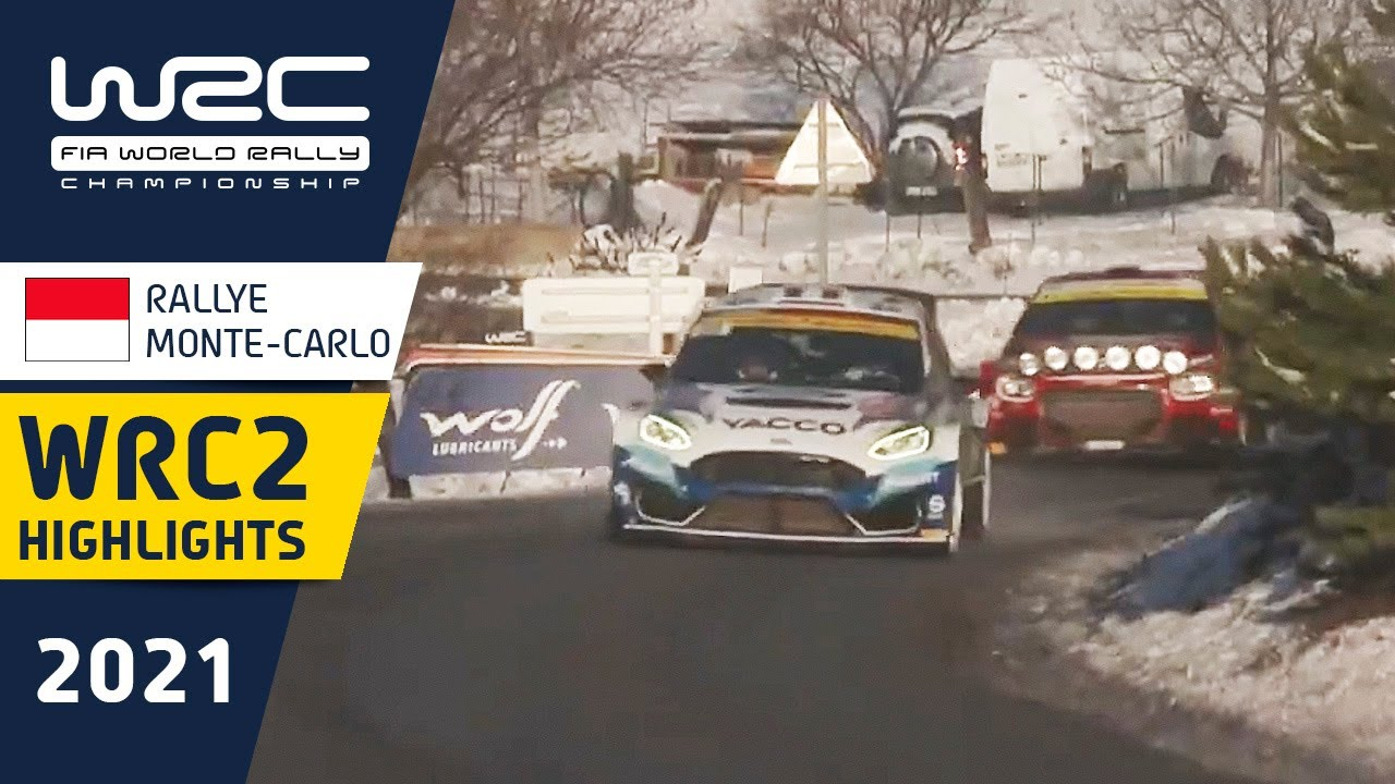 WRC2 - Rallye Monte-Carlo 2021: Saturday Highlights