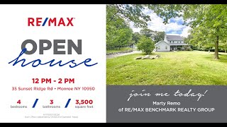 Sunset Ridge Open House- Luxury Home For Sale in Monroe New York